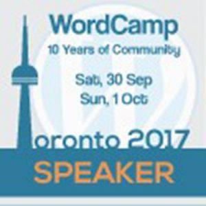WordCamp Toronto 2017 Google Analytics Presentation