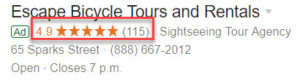 Google Ads Extension - Seller Rating