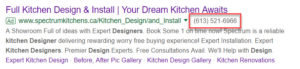 Google Ads Extension - Call
