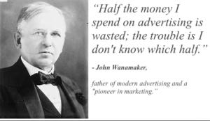 John Wanamaker famous quote