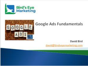 Google Advertising Presentation Retrieval